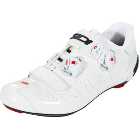 Sidi Ergo 5 Carbon Shoes Herr white/white